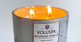 The Cozy Scent of Voluspa Bourbon Vanille